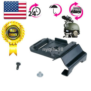 Helmet Mount & Screw Accessory For ACH MICH Helmet NVG PVS-7 14 NV Goggle Alloy