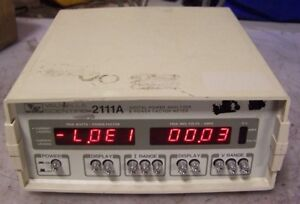 Valhalla Scientific 2111a Digital Power Analyzer Power Factor Meter 120 Vac