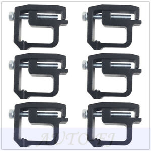 6pcs Camper Shell Clamps Camper Clamps For Pickup Truck Cap Clamps