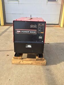 Lincoln Electric K2202 1 Power Wave 455m Robotic