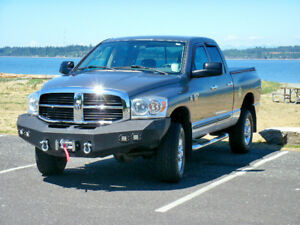 2006 2009 Dodge Ram 2500 3500 Ko Off Road Front Bumper Heavy Duty Winch Ready