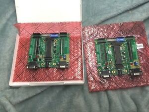 One Lot Of 2 Mde 8051 Single Board Computer Trainer Micro Controller D340