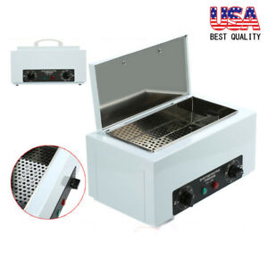 Dry Heat Sterilizer Cabinet Autoclave Magnifier Dental Tattoo Disinfect Salon Us