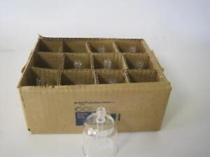 Lot Of 9 New Corning 3960 Pyrex Filling Bell For Culture Tubes Bottles 23x70mm
