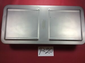 Aesculap Instrument Sterilization Tray Case Surgical P 20