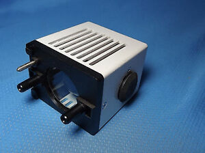 Leitz 6v 20w Halogen Lamphouse Microscope Part 514602 Or 514672 Laborlux