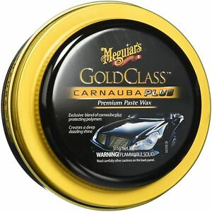 Meguiars G7014 Gold Class Car Wax Paste Carnauba Plus Protecting Polymers