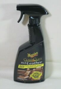 Meguiars G10916 Gold Class Rich Leather Cleaner Conditioner 15 2oz