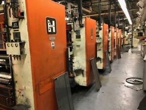 Hantscho Mark Vi Web Printing Presses Units Wpc Components Perretta Inking