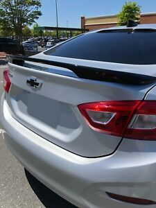 2016 2018 Chevrolet Cruze High Back Spoiler Painted Lifetime Warranty All Colors