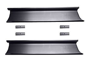 1948 1949 1950 1951 1952 Ford F 1 Pickup Truck Steel Running Boards New Pair