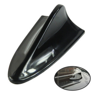 Universal Shark Fin Car Roof Exterior Decorative Black Cover For Radio Antenna