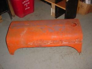 Original Case Sc s Tractor Engine Hood Cover S sc Case