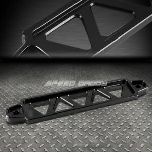 220mm 190mm Black Billet Aluminum Car Battery Tie Down Mount Bracket Brace Bar