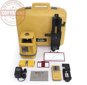 Topcon Rl vh2a Self Leveling Rotary Laser Level Trimble Spectra dewalt rugby