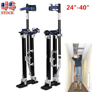 New Heavy Duty Drywall Painters Walking Stilts 24 40 Inch Painting Wiring Tools