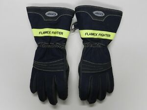 Chiba Flamex Fighter Firefighter Turnout Gloves Nfpa 1971 2007 Edition Large