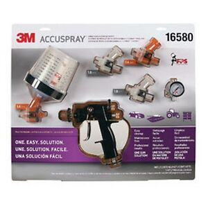 Accuspray Spray Gun System With Pps 3m 16580 Brand New