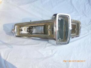 Reduced 1966 Plymouth Barracuda Valiant Hl Tail Light Assembly