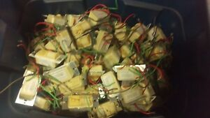 Lot 113 Hubbell Ws12771 Motion Detector Light Switches As is Wall Switch Sensors