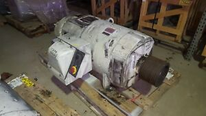300 Hp Dc General Electric Motor 1750 Rpm 506ay Frame Dpfv 500 V W Brake