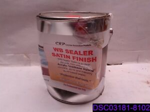 Dented Can Concrete Restoration Products Wb Sealer Satin Finish 1 Gallon