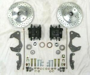 1965 1968 Chevy Full Size Car Slotted Disc Brake Conversion Kit Bel Air Impala