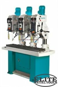 New Clausing 23 6 Drill Press With Evs Manual Feed 3mt 3 Hp Fixed