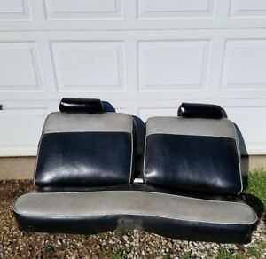 1968 1972 Nova Front Bench Seat And Rear Seat Very Good Condition Complete Set