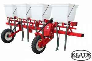 New Mechanical Transplanter Fsd 4 Quad hopper Side Dresser