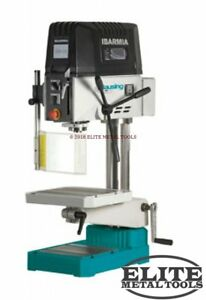 New Clausing 19 7 Drill Press With Step Pulley Manual Feed Km18