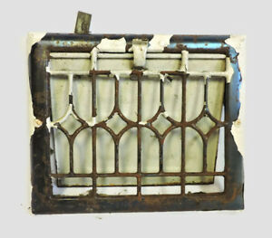 Antique Metal Heating Grate Register Vent Wall Ornate 11 5 X 9 5 C