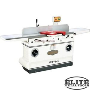 New Woodstock W1744s Shop Fox 12 Jointer With Spiral Cutterhead