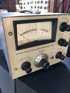 Keithley Instruments Model 640 Vibrating Capacity Electrometer