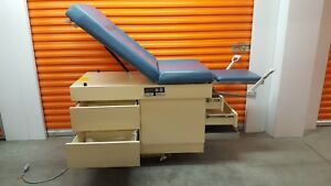 Umf 5140 Manual Adjustable Medical Patient Exam Table Gyno Obgyn Blue Top Cover