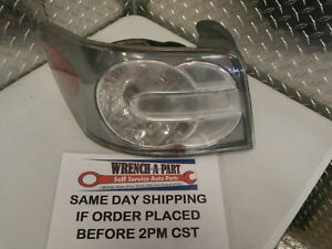 2008 Mazda Cx 7 Driver Left Side Tail Light Lamp 5828579 A4