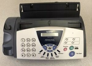 Brother Fax 575 Personal Plain Paper Fax Phone Copier Used One Time