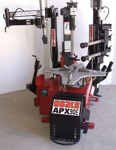 Remanufacuted Coats Model Apx90 e Tire Changer With Leverless Attachment