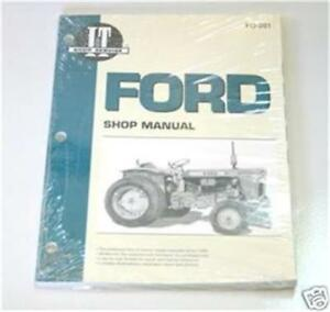 Ford Dexta Super Dexta Major Super Major Shop Repair Manual Fo201
