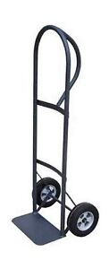 Milwaukee Hand Trucks 30020 P handle Truck With 8 inch Puncture Proof Tires
