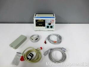 Zoll M series Biphasic 3 Lead Ecg Spo2 Aed Als Pacing Analyze Patient Monitor
