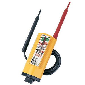 Ideal 61 076 Vol con Voltage Tester continuity Tester