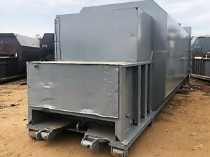 Trash Garbage Recycling 35 Yd Self Contain Compactor Big Bite