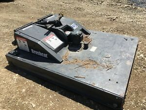 Bobcat Brushcat Brushhog 72 Little Use Heavy Duty Rotary Mower Bush Hog