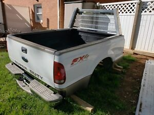 Ford Super Duty Lariat Short Bed White Tan