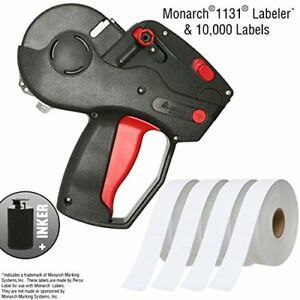 Monarch 1131 Pricing Gun With Labels Starter Kit Includes Price Gun 10 000