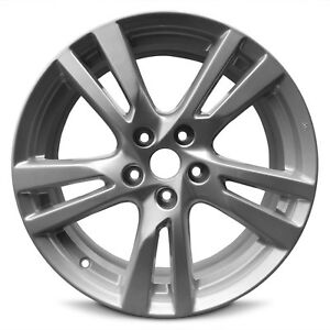 Wheel Fits 2013 2017 Nissan Altima 18 Inch Aluminum Rim 5 Spokes 5 Lug 114 3mm