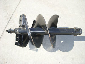 Toro Dingo Mini Skid Steer Attachment Hex 18 Auger Post Hole Bit Ship 99