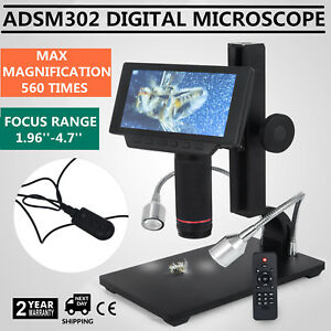 Andonstar Adsm302 5 Inch Lcd Hdmi Digital Microscope For Pcb Repair Pq