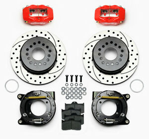 Wilwood Rear 12 Disc Kit Gm C Clip 12 Bolt 2 75 Off 140 7149 Dr E Brake Chevy